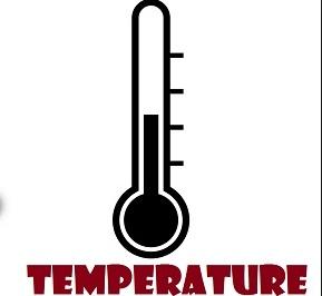 Different methods of temperature measurement