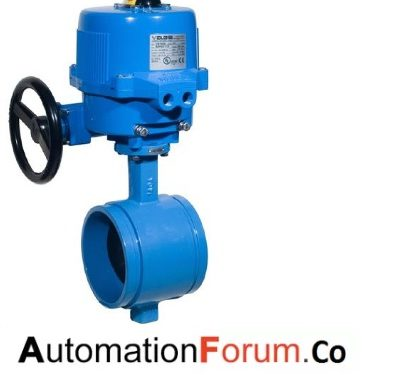 What are motor operated valves?