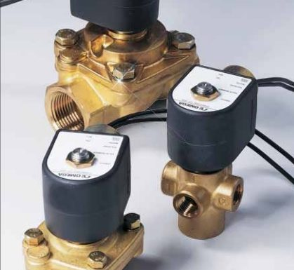Different types of direct acting solenoid valves