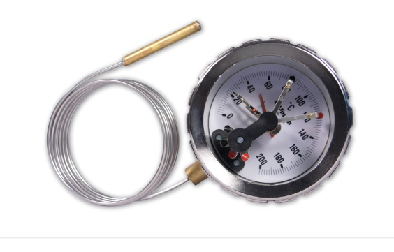 PRESSURE SPRING THERMOMETERS