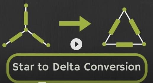 Star to delta transformation