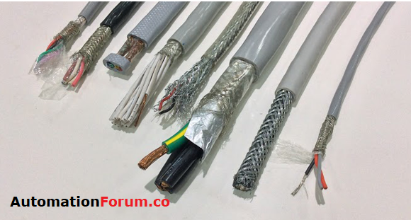Cable screen, Grounding cable screen