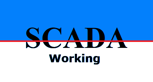 How does a SCADA system work?