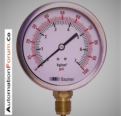 What is pressure gauge and how is pressure gauge calibrated?