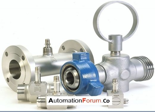 What is a turbine flow meter and how is it constructed