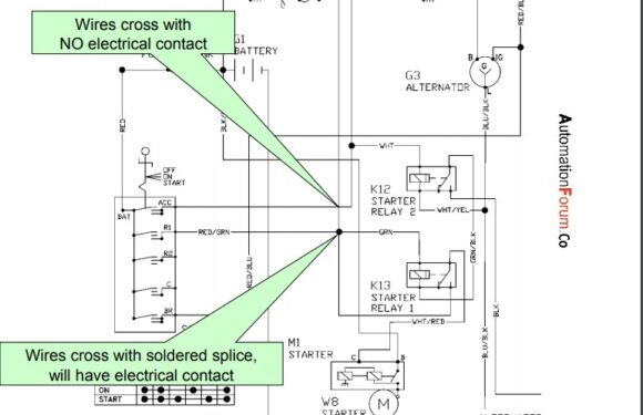 How to read an electrical diagram